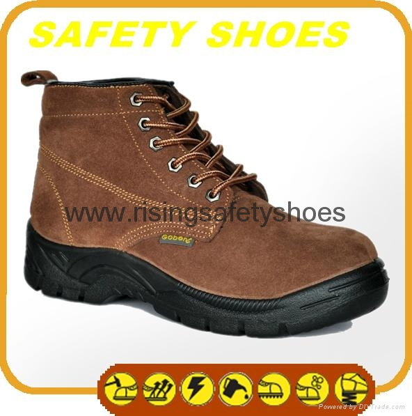 2014-2015 new made in china ce certificated genuine leather work shoes 2