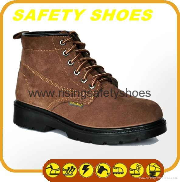 2014-2015 new made in china ce certificated genuine leather work shoes 3