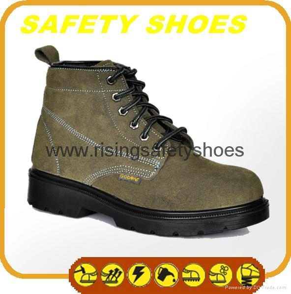 2014-2015 new made in china ce certificated genuine leather work shoes 5