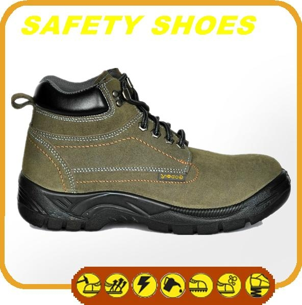 2014-2015 new made in china anti oil anti slip genuine leather safety work shoes 1