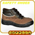 2014-2015 new made in china anti oil anti slip genuine leather safety work shoes 5