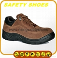 2014-2015 new made in china anti oil anti slip genuine leather safety work shoes 2