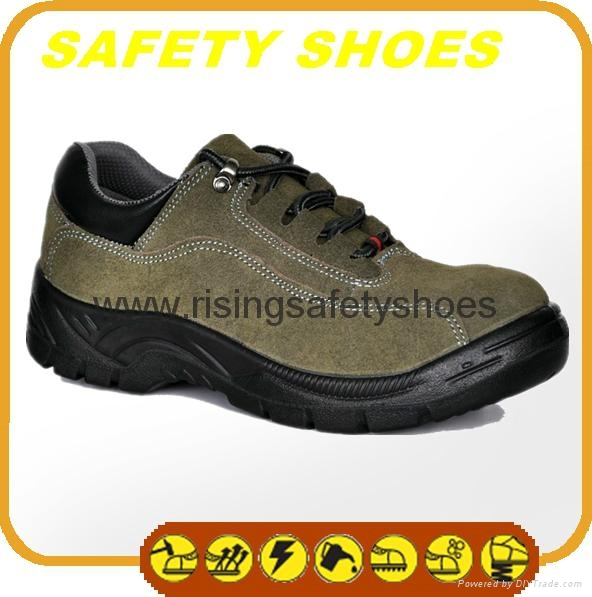 2014-2015 new made in china anti oil anti slip genuine leather safety work shoes 3