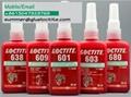 loctite 641 yellow retaining compound adhesive 3