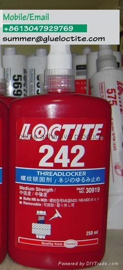 henkel loctite 242 blue threadlocker medium strength 50ml 250ml bottle 1
