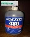 henkel loctite 480 black toughened instant adhesive 20gm 500gm 3