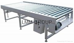 roller belt conveyor system
