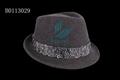 Selling white fedora hats for men