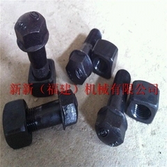 Track bolt and nut