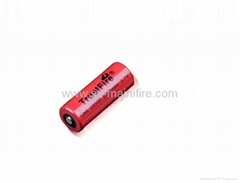 Trustfire IMR 18500 batteries 3.7v 1300mah high drain battery for e-cigarette