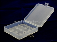 18350 battery case/storage plastic box /keep batteries save