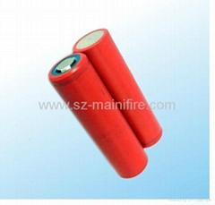 Sanyo UR18650E 2050mAh li-ion rechargeable battery cell