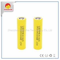 High drain original HE4 18650 ICR18650HE4 2500mah 30A/35A discharge battery (Hot Product - 1*)