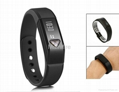 2015 Popular Colors Silicone Wristbands I5 OLED Screen Bluetooth 4.0 Smart watch (Hot Product - 1*)