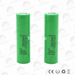 Authenic SAM INR18650-25R 3.7V 25A INR 25R rechargeable battery (Hot Product - 1*)