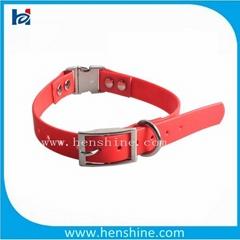 tpu nylon quick release dog collar remote control  dog collar
