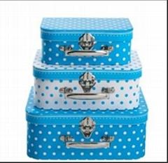 cardboard suitcase for children