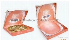 new style corrugated pizza box