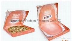new style corrugated pizza box