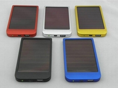 Power Bank 2600mAh Multi-prupose Portable Mobile Solar Charger for iPhone&ipad