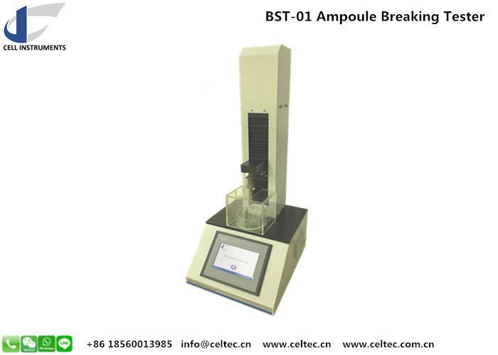 Ampoule Breaking Strength Tester Medical glass bottle breaking tester 4