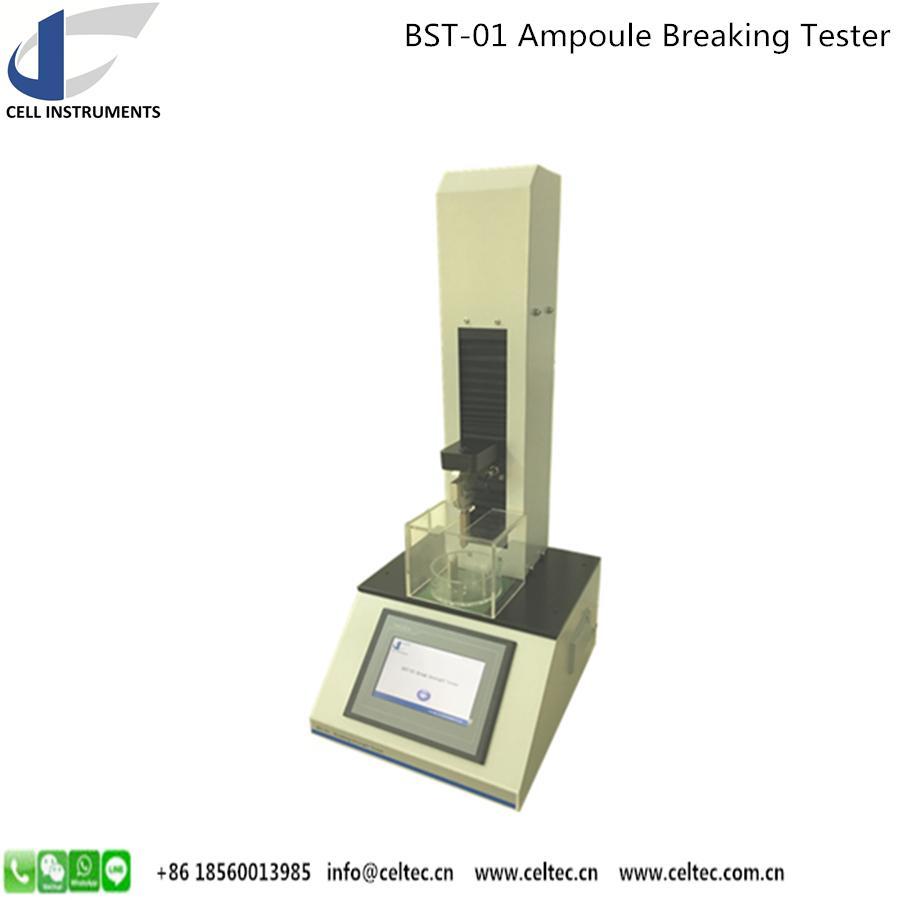 Ampoule Breaking Strength Tester Medical glass bottle breaking tester 5