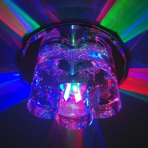 3W LED Crystal Ceiling Lighting Corridor Lamps 501 2