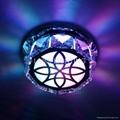 D120mm LED Metal  Crystal Ceiling
