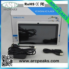cheap android 7inch phone call tablet pc