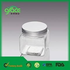 LG-12 Plastic Luxury Cosmetic Jars Manufacturing