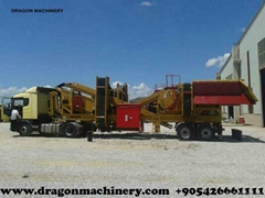 New Type Stone Crushing Plant Dragon Crusher type 7