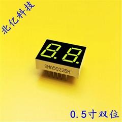 0.4寸二位數碼管 雙位led七段共陽顯示屏紅色光SMA4021BH