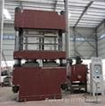 Four Column Platen Curing Press