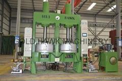 hydraulic bias tire curing press