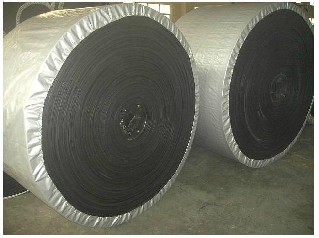 Deeply Inclined Patterned Rubber Conveyor Belt for Gravel 4