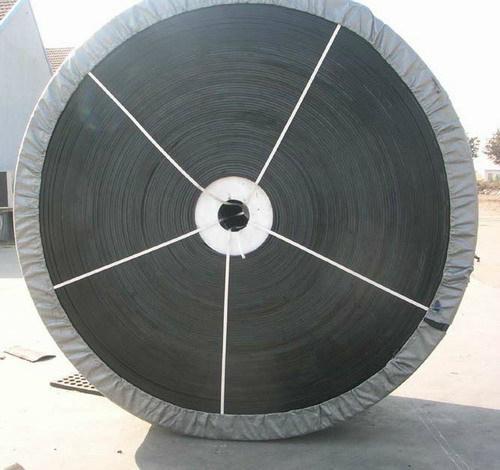 Deeply Inclined Patterned Rubber Conveyor Belt for Gravel 5