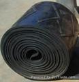 Wave-Shaped Pattern Rubber Conveyor Belt