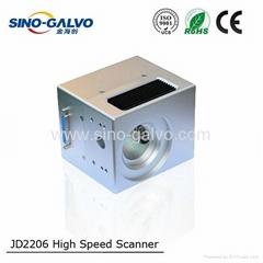 JD2206 CE認証10mm光斑直徑的檢流計