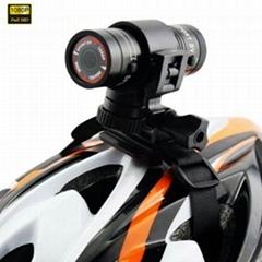 1080P F9 Alloy high quality waterproof f9 sport action camera dv for helmet ski