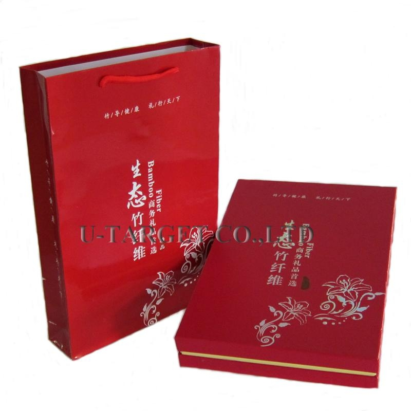 70% Bamboo fiber+30% cotton 34x76cm Solid Soft Home Towel Washcloth Gift Box  1