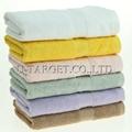 New Soft Absorbent 100% Egyptian Bamboo Fiber Luxury Stripe Hand Sheet Towels 4