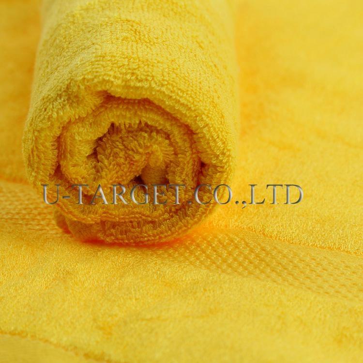 New Soft Absorbent 100% Egyptian Bamboo Fiber Luxury Stripe Hand Sheet Towels 5