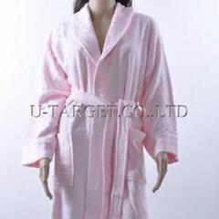 Bamboo robes 100%Bamboo fibre  Ladies Bamboo Bathrobe Dressing Gown