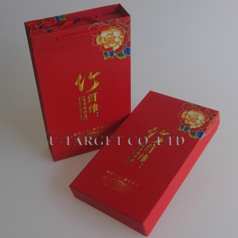 70% Bamboo fiber+30% cotton 34x76cm Solid Soft Home Towel Washcloth Gift Box 2