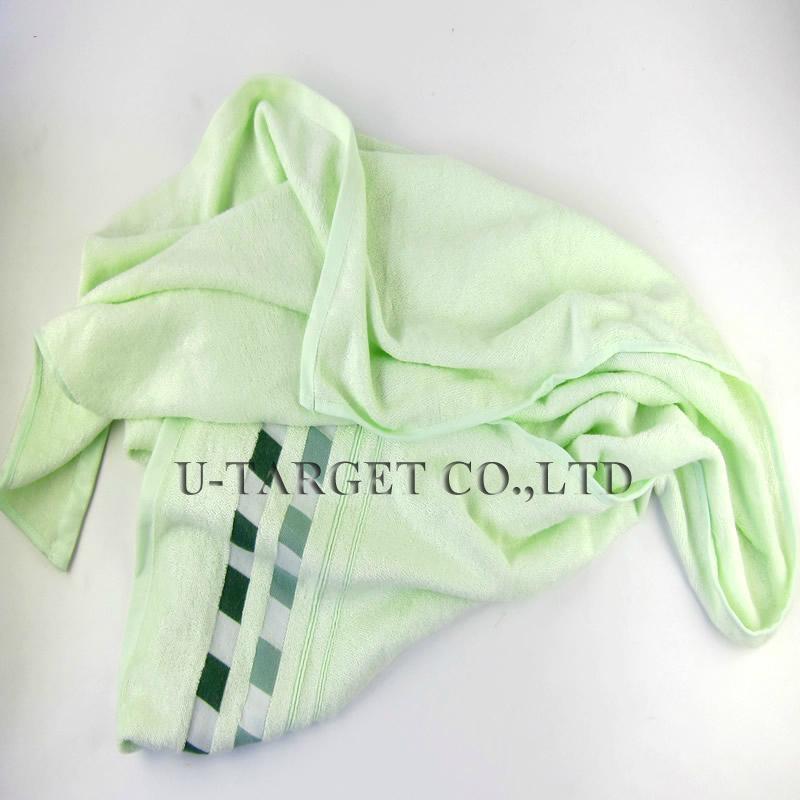 Large Size 140x70cm100% Bamboo Fiber Cooling Towel Bamboo Fiber Bath Towel 2