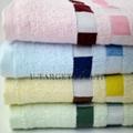 Large Size 140x70cm100% Bamboo Fiber Cooling Towel Bamboo Fiber Bath Towel 5