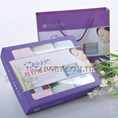 70% Bamboo fiber+30% cotton 32x76cm Home Towel Wholesale Beach Towels Gift Box