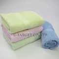 New 2014 Promotion Towels Bathroom 28x48cm 100% Bamboo Hand Towel For Children 2