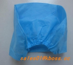 disposable bouffant nonwoven cap