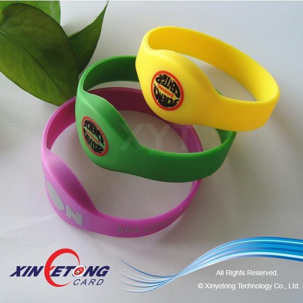 Silicone RFID Wristband 13.56MHZ 1